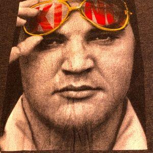 The King Elvis Presley Large Mens Tee Shirt Top